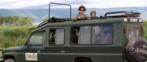 Safari vehicle Tanzania safari
