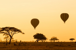 Hot air balloons Tanzania safari - Proud African Safaris