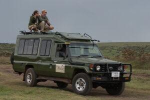Tanzania Safari - Proud African Safaris Vehicle