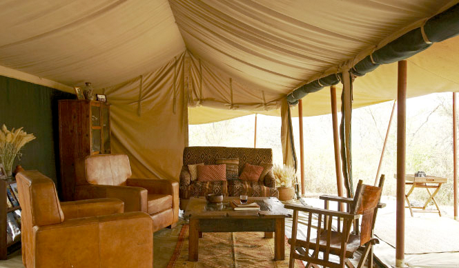 Tarangire National Park Olivers camp at Proud African Safaris