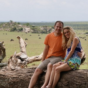 Enjoying their Tanzania Safari