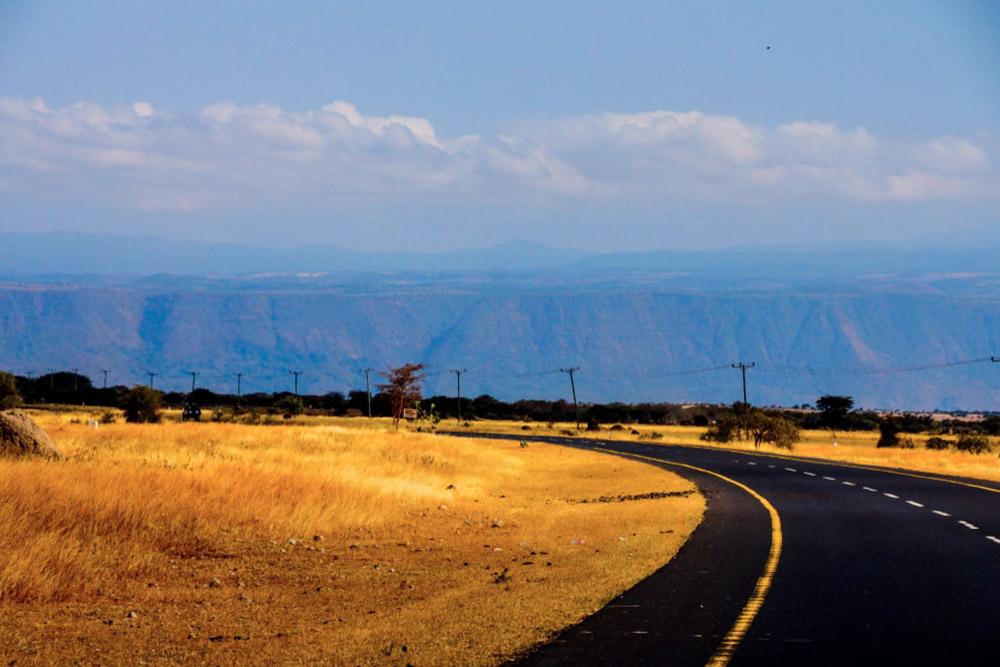 highway across serengeti